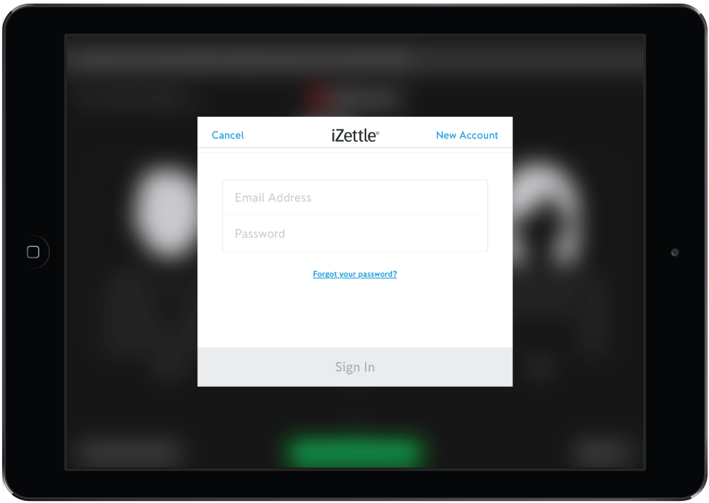 Processing payments with iZettle – Lightspeed Restaurant